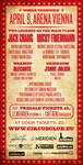 Circus Club Vienna 01 with Micky Friedmann and Jack Chang Party Flyer Back