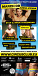 Circus Club Vienna 06 - Under Construction with Micky Friedmann, DJ Alexio, Charlet Crackhouse DJ Van Der Hint and DJ Kevin Neon Party Flyer