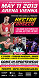 Circus Club Vienna 07 Sports Academy with Hector Fonseca, DJ Alexio, DJ  Gerald Van Der Hint and DJ Kevin Neon Party Flyer